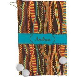 Tribal Ribbons Golf Towel - Full Print (Personalized)