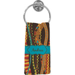 Tribal Ribbons Hand Towel - Full Print (Personalized)