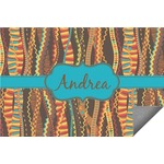 Tribal Ribbons Indoor / Outdoor Rug (Personalized)