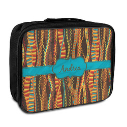 Tribal Ribbons Insulated Lunch Bag (Personalized)