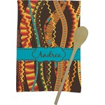 Tribal Ribbons Kitchen Towel - Full Print (Personalized)