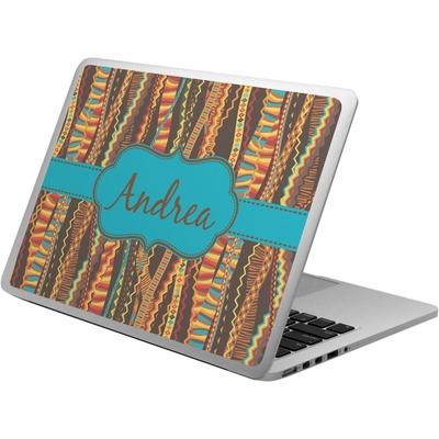 Tribal Ribbons Laptop Skin - Custom Sized (Personalized)