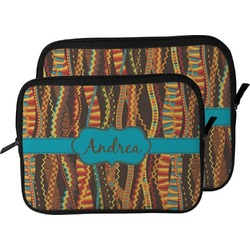 Tribal Ribbons Laptop Sleeve / Case (Personalized)