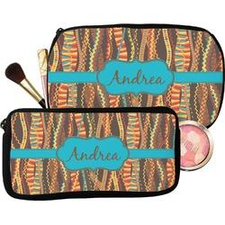 Tribal Ribbons Makeup / Cosmetic Bag (Personalized)