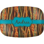 Tribal Ribbons Melamine Platter (Personalized)