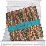 Tribal Ribbons Minky Blanket (Personalized)