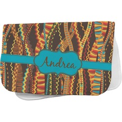 Tribal Ribbons Burp Cloth (Personalized)