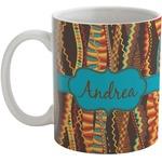 Tribal Ribbons Coffee Mug (Personalized)