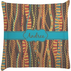 Tribal Ribbons Euro Sham Pillow Case (Personalized)