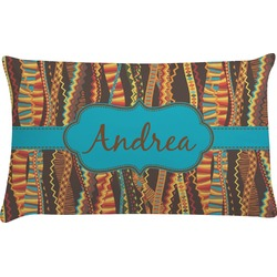 Tribal Ribbons Pillow Case (Personalized)
