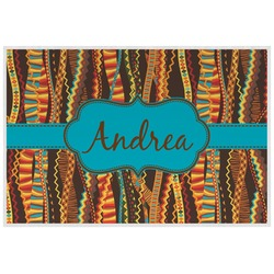 Tribal Ribbons Placemat (Laminated) (Personalized)