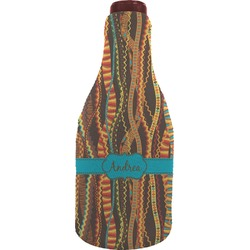Tribal Ribbons Wine Sleeve (Personalized)
