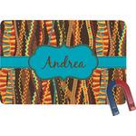 Tribal Ribbons Rectangular Fridge Magnet (Personalized)