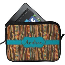 Tribal Ribbons Tablet Case / Sleeve - Small (Personalized)
