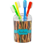 Tribal Ribbons Toothbrush Holder (Personalized)