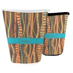 Tribal Ribbons Waste Basket (Personalized)