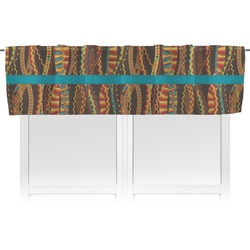 Tribal Ribbons Valance (Personalized)