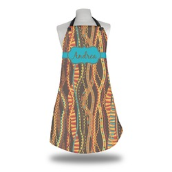 Tribal Ribbons Apron w/ Name or Text
