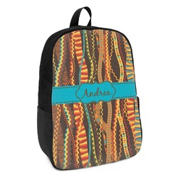 Tribal Ribbons Kids Backpack (Personalized)