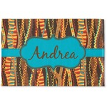 Tribal Ribbons Woven Mat (Personalized)