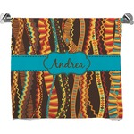 Tribal Ribbons Bath Towel (Personalized)
