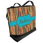 Tribal Ribbons Beach Tote Bag (Personalized)