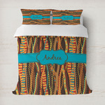 Tribal Ribbons Duvet Cover (Personalized)