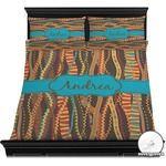 Tribal Ribbons Duvet Cover Set (Personalized)