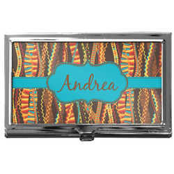 Tribal Ribbons Business Card Case