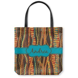 Tribal Ribbons Canvas Tote Bag (Personalized)