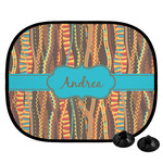 Tribal Ribbons Car Side Window Sun Shade (Personalized)