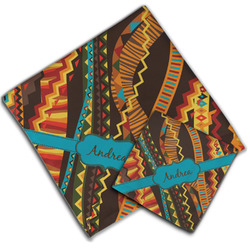 Tribal Ribbons Cloth Napkin w/ Name or Text