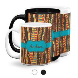 Tribal Ribbons Coffee Mugs (Personalized)