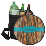 Tribal Ribbons Collapsible Cooler & Seat (Personalized)