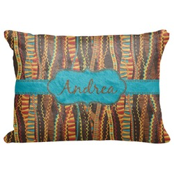 "Tribal Ribbons Decorative Baby Pillowcase - 16""x12"" (Personalized)"
