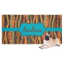 Tribal Ribbons Pet Towel (Personalized)