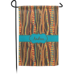 Tribal Ribbons Garden Flag - Single or Double Sided (Personalized)