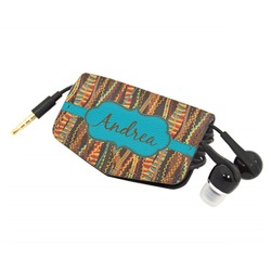 Tribal Ribbons Genuine Leather Cord Wrap (Personalized)