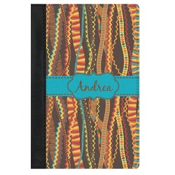 Tribal Ribbons Genuine Leather Passport Cover (Personalized)