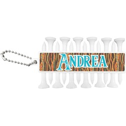Tribal Ribbons Golf Tees & Ball Markers Set (Personalized)