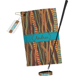 Tribal Ribbons Golf Towel Gift Set (Personalized)