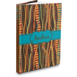 Tribal Ribbons Hardbound Journal (Personalized)