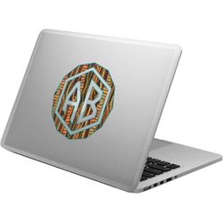 Tribal Ribbons Laptop Decal (Personalized)