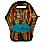 Tribal Ribbons Lunch Bag w/ Name or Text