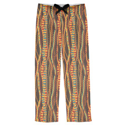 Tribal Ribbons Mens Pajama Pants (Personalized)