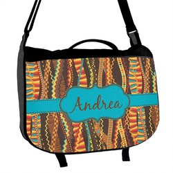 Tribal Ribbons Messenger Bag (Personalized)