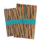 Tribal Ribbons Microfiber Golf Towel (Personalized)