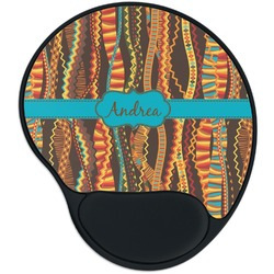 Tribal Ribbons Mouse Pad with Wrist Support