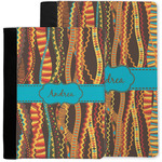 Tribal Ribbons Notebook Padfolio w/ Name or Text