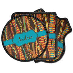 Tribal Ribbons Iron on Patches (Personalized)